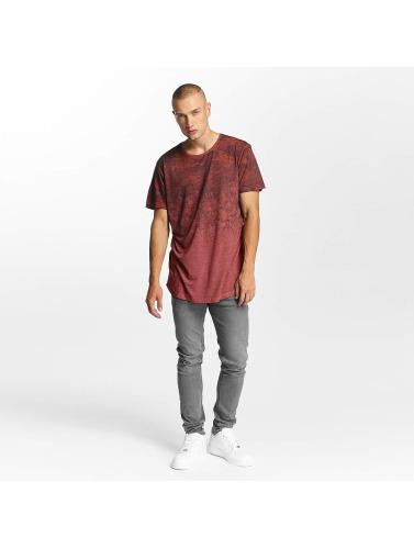 Bangastic Hombres Camiseta Fadin in rojo