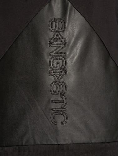 Bangastic Herren Hoody Logo PU in schwarz