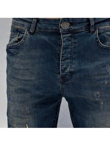 Bangastic Hombres Jeans ajustado Kurt in azul