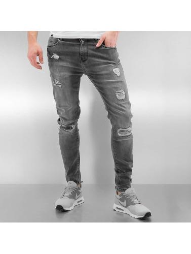 gris in Bangastic ajustado Hombres Jeans Burundi PxgXwpfUq