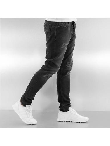 Bangastic Hombres Jeans ajustado A75 in negro