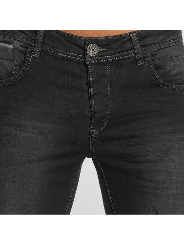 Bangastic Hombres Jeans ajustado Vinny in negro