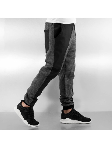 Bangastic Herren Jogginghose Knit II in schwarz