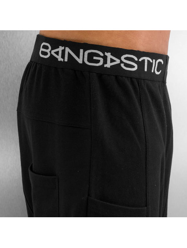 Bangastic Herren Jogginghose Anti Fit in schwarz