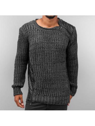 Bangastic Herren Pullover Knit in grau
