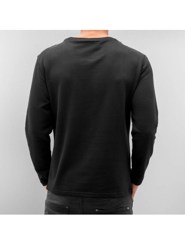 Bangastic Herren Pullover Element in schwarz