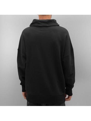 Bangastic Herren Pullover STE995 Oversize in schwarz