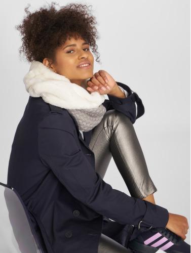 Bangastic Schal Fake Fur Loop in weiß
