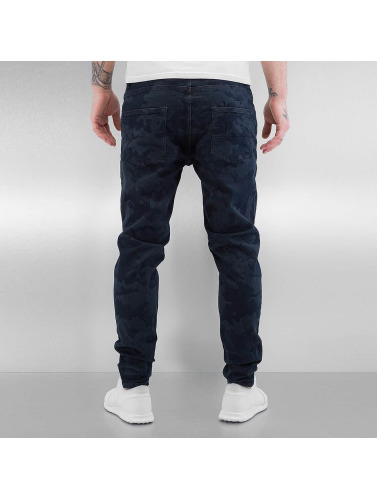 Bangastic Herren Slim Fit Jeans Lund in blau