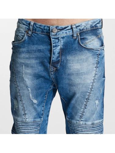 Bangastic Herren Slim Fit Jeans Joel in blau