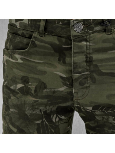 Bangastic Herren Slim Fit Jeans Paul in camouflage