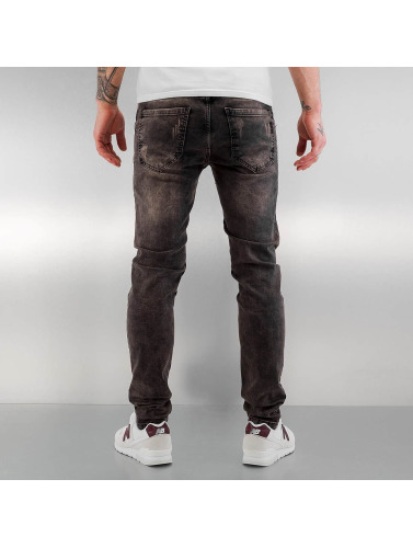 Bangastic Herren Slim Fit Jeans Emil In Grau