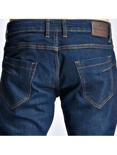 Bangastic Herren Slim Fit Jeans A75 in indigo Unisex Freiraum Für Schön 8MZiDtGM