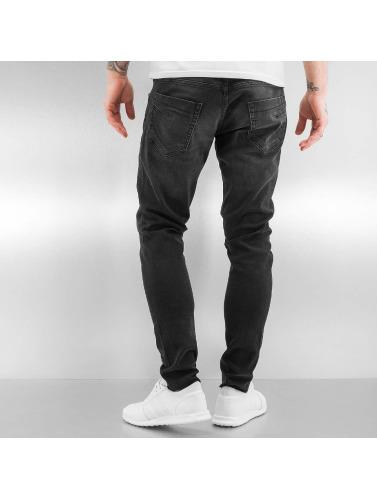 Bangastic Herren Slim Fit Jeans A75 in schwarz