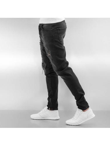 Bangastic Herren Slim Fit Jeans K125 in schwarz