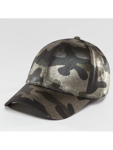 Bangastic Damen Snapback Cap Delux Camo in camouflage