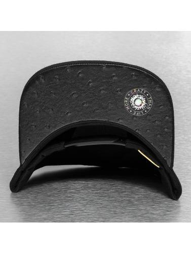 Bangastic Snapback Cap PU in schwarz