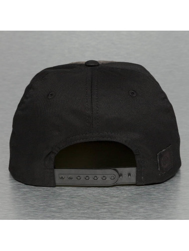 Bangastic Snapback Cap Acid Wash II in schwarz