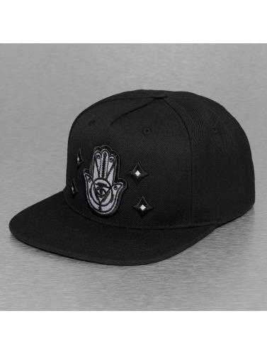 Bangastic Snapback Cap Hand in schwarz