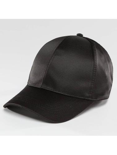 Bangastic Damen Snapback Cap Satin in schwarz