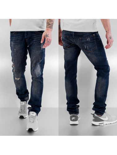 Bangastic Herren Straight Fit Jeans Lightning in blau Rabatte Für Verkauf Auslasszwischenraum Standorten SxIGHT