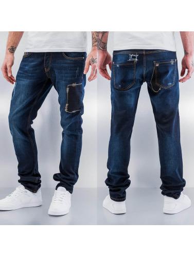 Bangastic Herren Straight Fit Jeans Fonder in blau