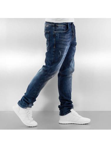 Bangastic Herren Straight Fit Jeans Trop in blau