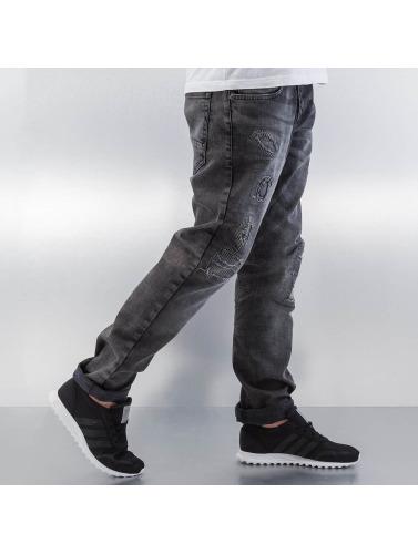 Bangastic Herren Straight Fit Jeans Barbados in grau