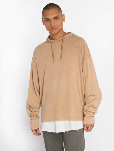 Bangastic Hombres Sudadera Blunde Oversize in beis