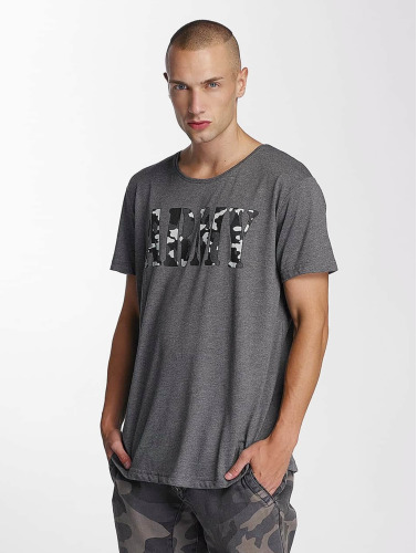 Bangastic Herren T-Shirt Team Army in grau