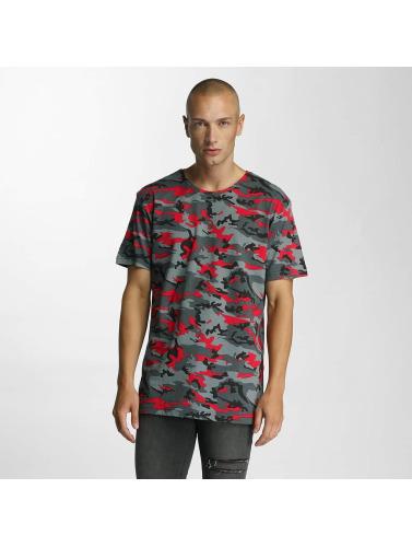 Bangastic Herren T-Shirt Camo in rot