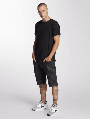 Bangastic Herren T-Shirt Lion in schwarz