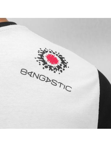 Bangastic Herren T-Shirt Plaid in weiß