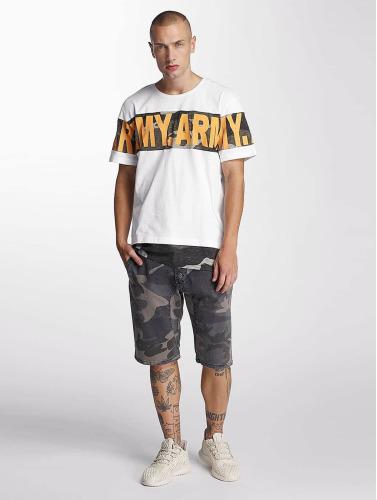 Bangastic Herren T-Shirt Army in weiß