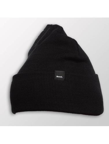 Bench Beanie Core Turn Up in schwarz