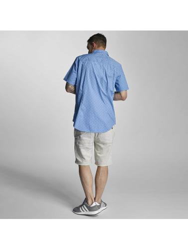 Bench Hombres Camisa Tile Aop in azul