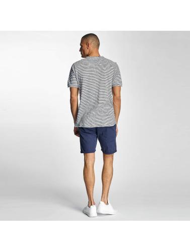 Benk hombres Camiseta V Hals I Azul kjøpe billige priser 7vcpsgj
