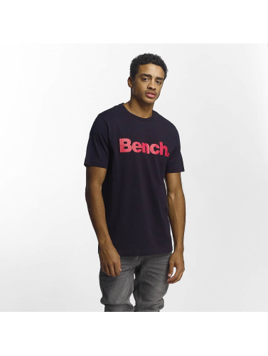Bench Hombres Camiseta Corp in azul