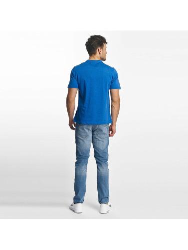 Bench Hombres Camiseta Logo in azul