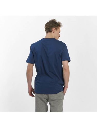 Bench Hombres Camiseta Basic Corp in azul