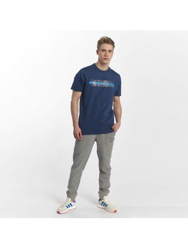 Bench Hombres Camiseta Logo Tee in azul