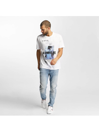 Graphic in blanco Photoprint Bench Camiseta Hombres qwtp1