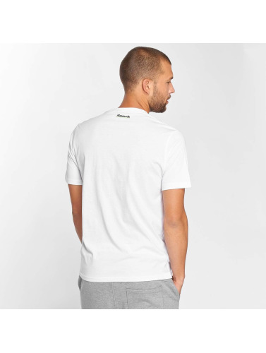 Bench Hombres Camiseta Performance in blanco