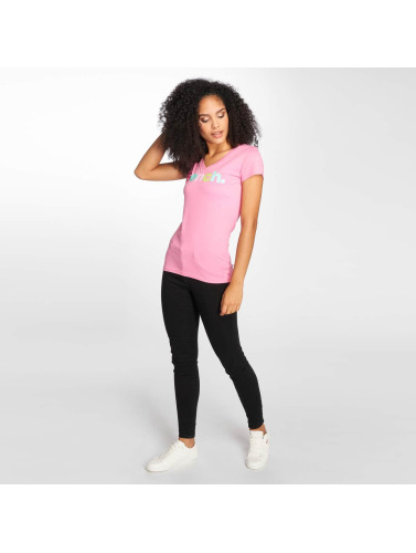 Bench Mujeres Camiseta Shootclean in fucsia