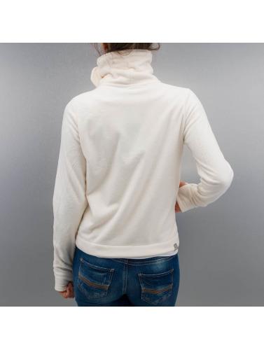 Bench Mujeres Chaqueta de entretiempo Difference Fleece Jacket in beis