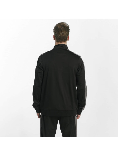 Bench Hombres Chaqueta de entretiempo Track Top in negro