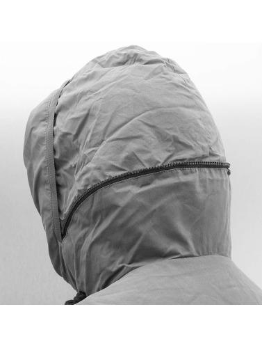 Bench Hombres Chaqueta de invierno Bomber in gris