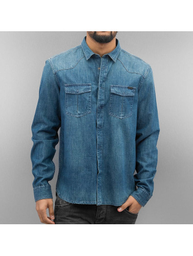 Bench Herren Hemd Asmara Denim in blau