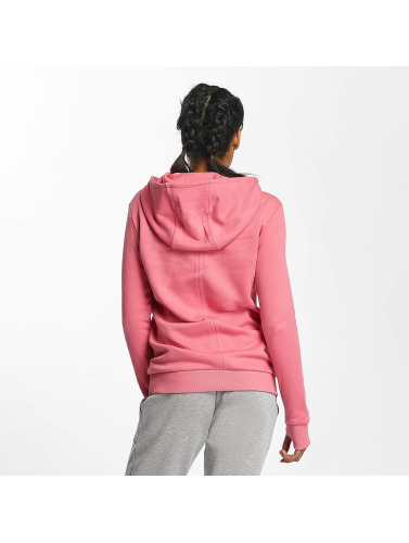 Bench Damen Hoody Crop Print in rosa
