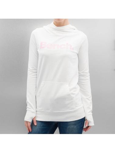 Bench Damen Hoody Corp Print in weiß
